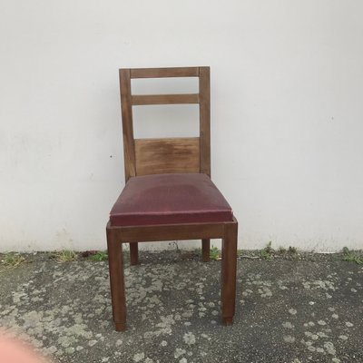 Art Deco Style Dining Chairs 1940s Set Of 2 For Sale At Pamono