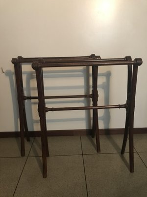 Antique Towel Racks From Thonet Set Of