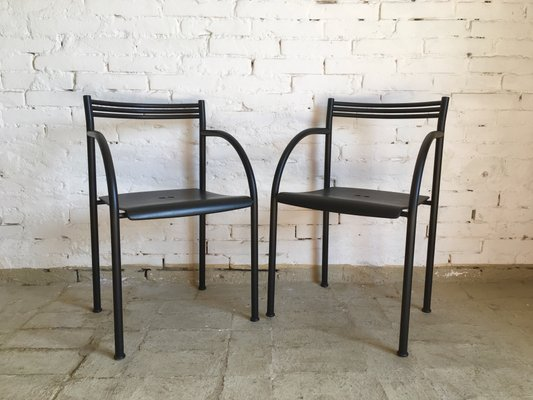 Living Room Bedroom Combo Ideas, Francesca Spanish Dining Chairs By Philippe Starck For Baleri 1980s Set Of 2 For Sale At Pamono