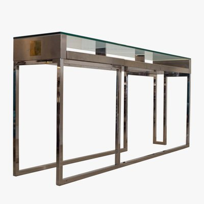Italian Console Table By Liwans, 1970s For Sale At Pamono