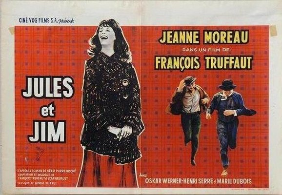 Jules Et Jim Belgian Movie Poster By Edicolor For Sale At Pamono