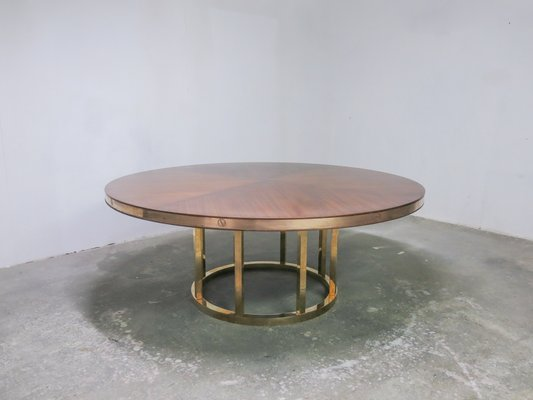 Vintage Italian Round Dining Table 1970s For Sale At Pamono