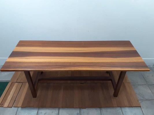 Vintage Solid Walnut Dining Table For, Walnut Dining Room