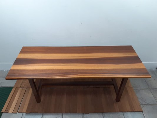 Vintage Solid Walnut Dining Table For Sale At Pamono