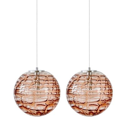 Pink Murano Gl Pendant Lights In The