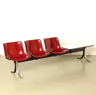 Waiting Room Sofa From Tecno 1970s For