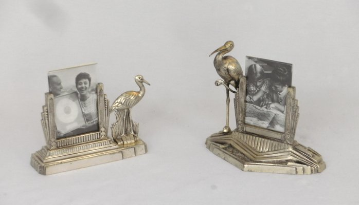 Vintage French Art Deco Photo Frames Set Of 2 For Sale At Pamono