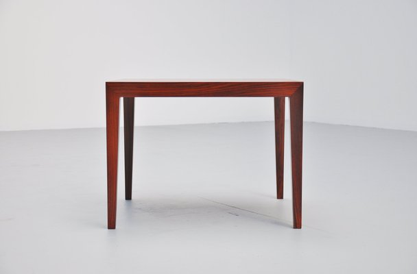 Rosewood Coffee Table by Severin Hansen for Haslev Møbelsnedkeri, 1950s