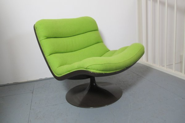Artifort F587 Fauteuil.F978 Lounge Chair By Geoffrey Harcourt For Artifort 1968