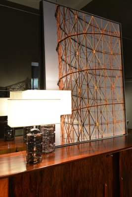 Crystal Argos Table Lamp by Cesar for