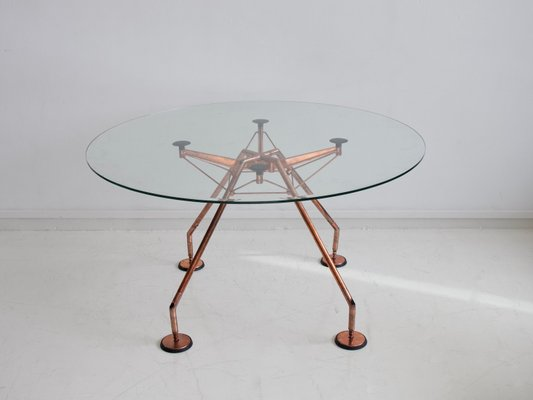 Round Dining Table By Norman Foster For Tecno 1980s For Sale At Pamono