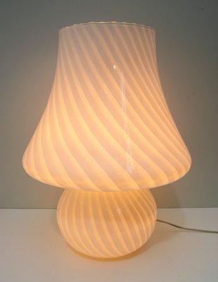 Mid Century Italian Murano Glass Table Lamp By Paolo Venini For Venini 1970s For Sale At Pamono