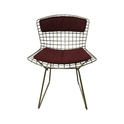 Wire Dining Chair By Harry Bertoia For Knoll Inc Knoll International 1980s For Sale At Pamono