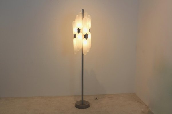 Murano Glass Floor Lamp By Carlo Nason, Replacement Glass Shades For Uplighter Floor Lamps
