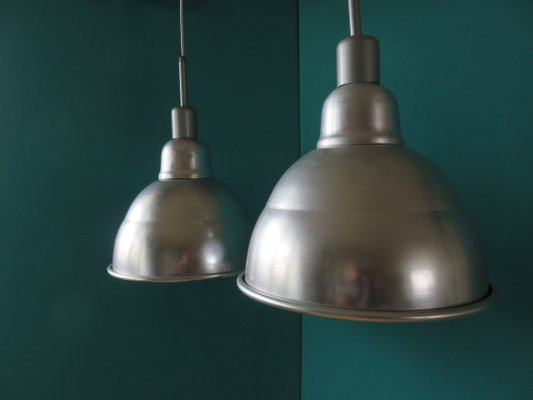 French Pendant Lights 1950s