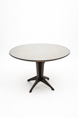 Italian Rosewood Round Extendable Dining Table In The Style Of Ico Parisi 1950s Bei Pamono Kaufen