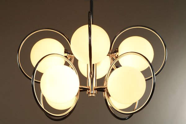 Vintage Sculptural Orbit Ceiling Lamp For Sale At Pamono