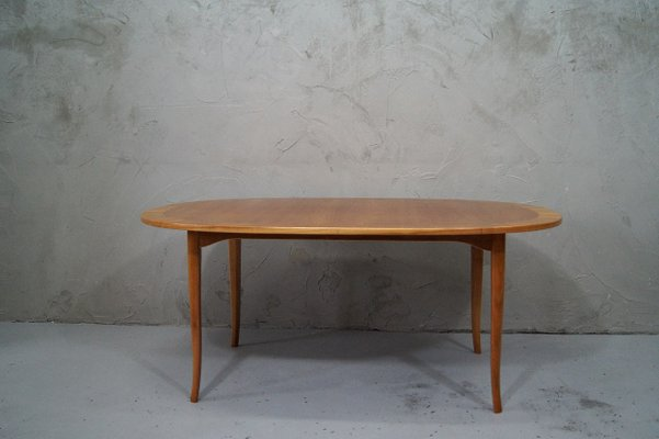 Oval Cherrywood Coffee Table