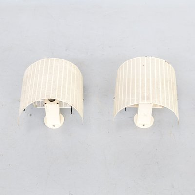 Shogun Sconces by Mario Botta for Artemide, 1980s, Set of 2