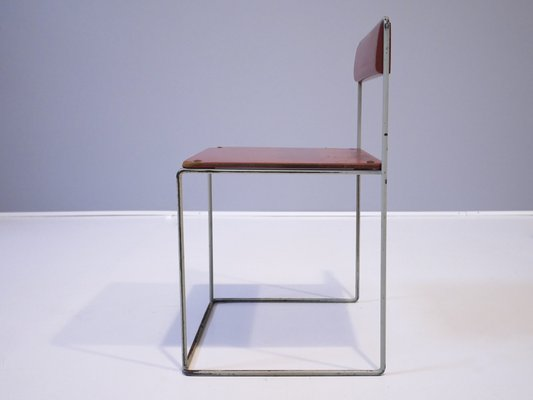 Swedish Childrens Chairs by Strinning, Kajsa & Nils ''Nisse'' for String,  1950s, Set of 6 en venta en Pamono