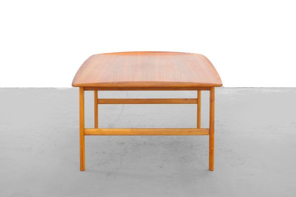 Bon Swedish Teak Coffee Table By Folke Ohlsson For Tingströms 3