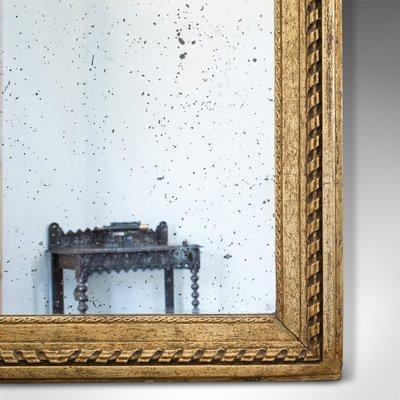 Antiker Regency Vergoldeter Englische Gesso Flur Spiegel 1820er Bei Pamono Kaufen