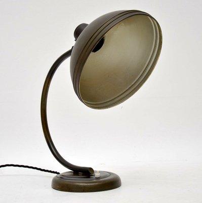 Vintage Bauhaus Style Desk Lamp, 1940s