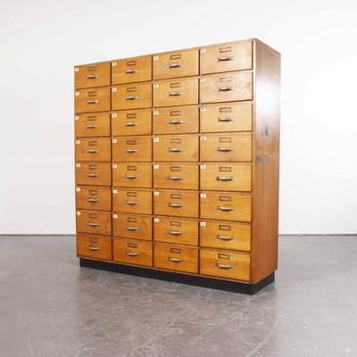 Oak Apothecary Multi Drawer Chest Of, Wooden Multi Drawer Cabinet