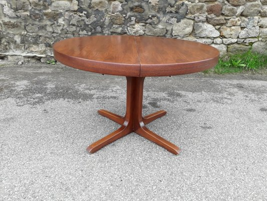 Vintage Scandinavian Extendable Dining Table From Baumann For Sale At Pamono