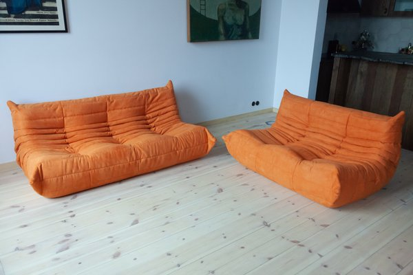 Seat Sofa Set By Michel Ducaroy