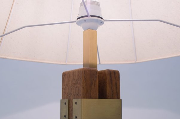 Wooden Airplane Children's Table Lamp