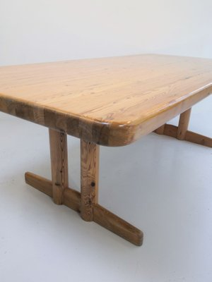 Pinewood Dining Table By Borge Mogensen 1970s Bei Pamono Kaufen