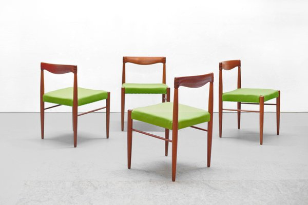 Mid Century Danish Teak Dining Chairs By H W Klein For Bramin 1960s Set Of 6 For Sale At Pamono