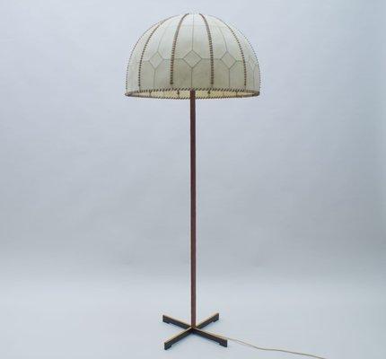 Stehlampe mit Genietetem Schirm von Kaiser Idell Kaiser Leuchten, 1960er