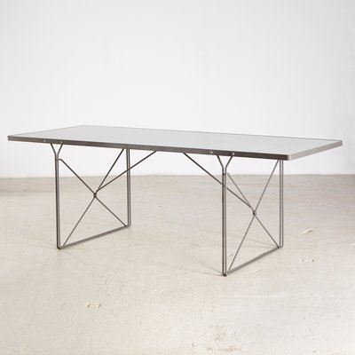 Moment Glass Table Table By Niels Gammelgaard For Ikea 1980s En Vente Sur Pamono
