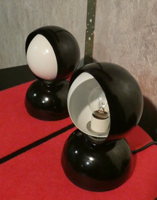 Italian Eclisse Table Lamps by Vico Magistretti for Artemide, 1967, Set of 2