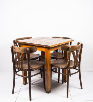 Bar Table Coffee Chairs Set 1950s For Sale At Pamono