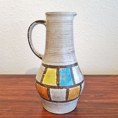 Ceramic Nr 1207 25 Pitcher Vase From Jasba 1960s For Sale At Pamono