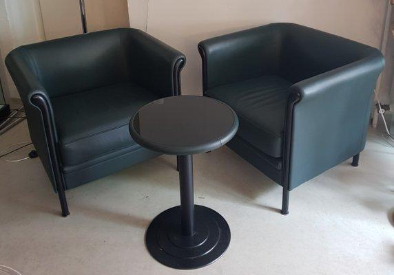 Vintage Clubsessel und Tisch Set von Antonio Citterio für Moroso
