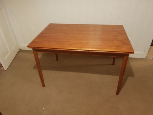 Danish Teak Extendable Dining Table Chairs Set From Drylund 1960s Set Of 7 For Sale At Pamono