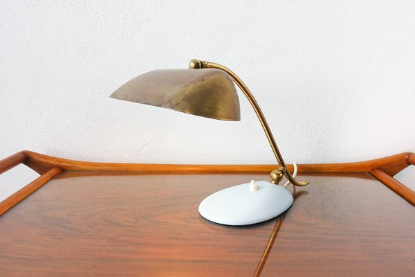 Brass Piano Table Lamps 1950s Set Of 2 For Sale At Pamono