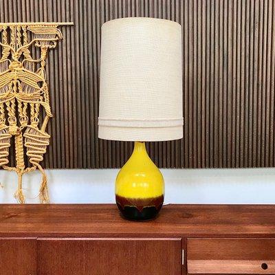 Lampada Da Tavolo Grande In Ceramica Smaltata Di Aro Germania Anni 60 In Vendita Su Pamono