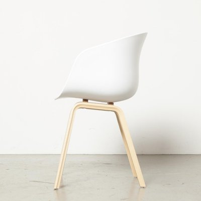 White Model Aac22 Side Chair By Hee Welling For Hay Denmark 2000s For Sale At Pamono