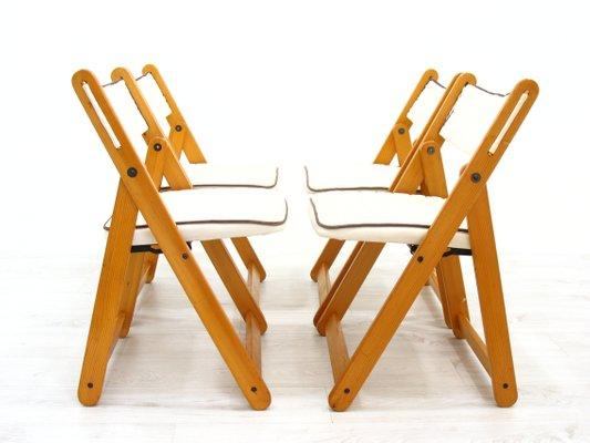 Terje Folding Chair White Knisa Light Grey Ikea