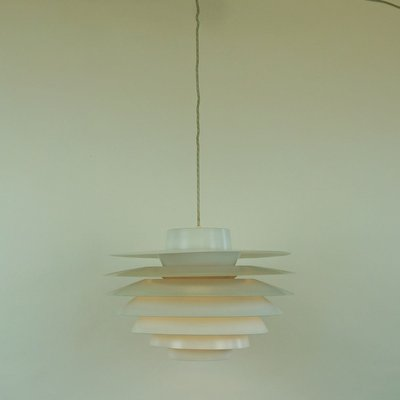 Large Danish Verona Pendant Lamp by Svend Middelboe for Nordisk Solar, 1960s