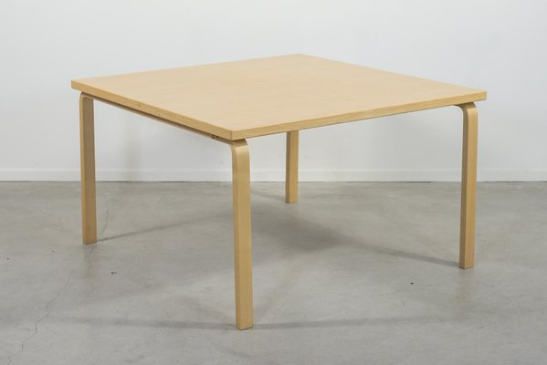Model 84 Dining Table Alvar Aalto For Artek For Sale At Pamono