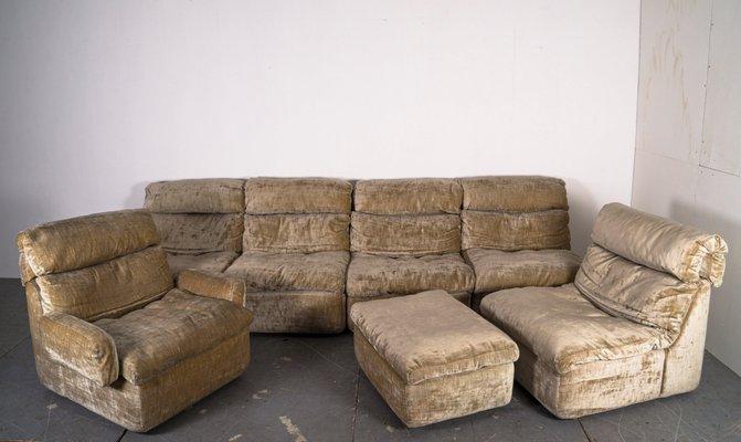 Green Velvet 7 Modular Sofa, Craigslist Furniture Orlando Florida