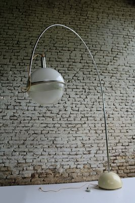 Model Arco Floor Lamp by Fabio Lenci for Guzzini, 1970s