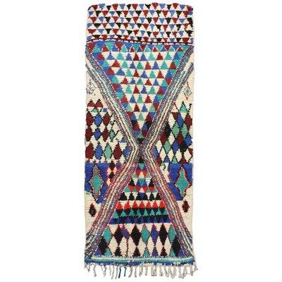 Handwoven Berber Wool Rug Vintage Azilal For Sale At Pamono