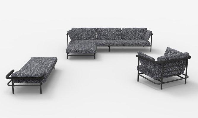 Upholstered X Rays Sofa Alain, Lachance Furniture Sofas